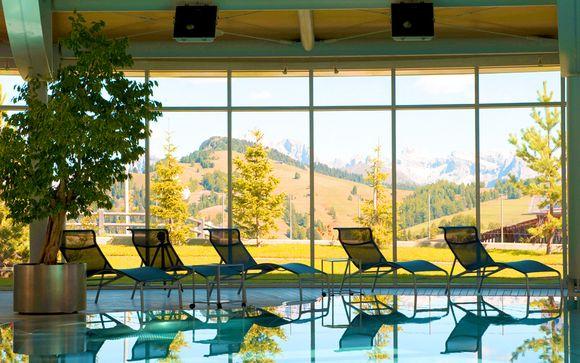 Esclusivo 5* tra natura e design nel cuore delle Dolomiti
