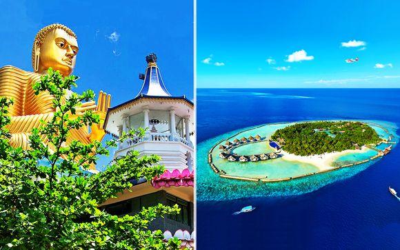 Sri Lanka in minitour e relax All Inclusive nell'atollo di Ari
