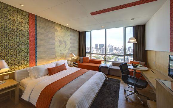 Possibilità di soggiorno iniziale a Bangkok al Pathumwan Princess Hotel 5*