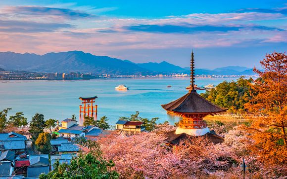 Tour in libertà del Giappone di 12, 14 o 17 notti