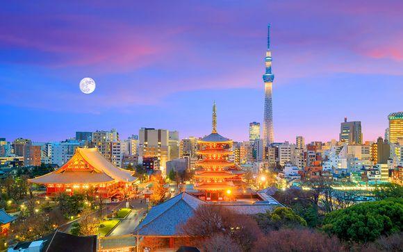 Autotour del Giappone con noleggio auto