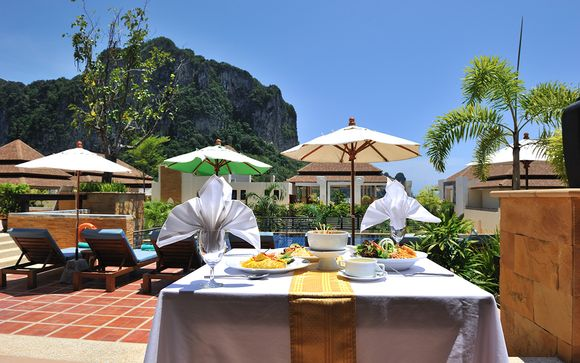Krabi - Aonang Cliff Beach Resort 4*