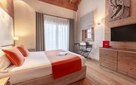 Hotel Les Loges Blanches Megève
