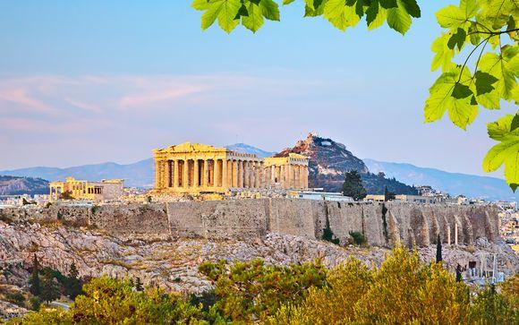 Autentico hotel boutique con visita dell'Acropoli