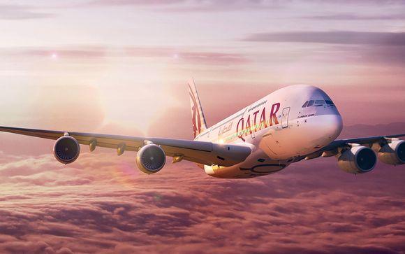 Vivete un'esperienza di viaggio di lusso con Qatar Airways