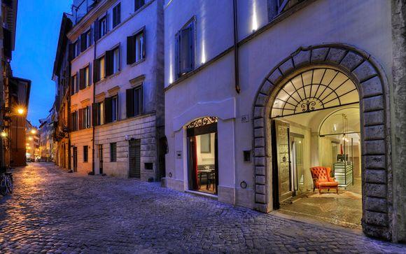 Storico palazzo del XV secolo a un passo da Piazza Navona
