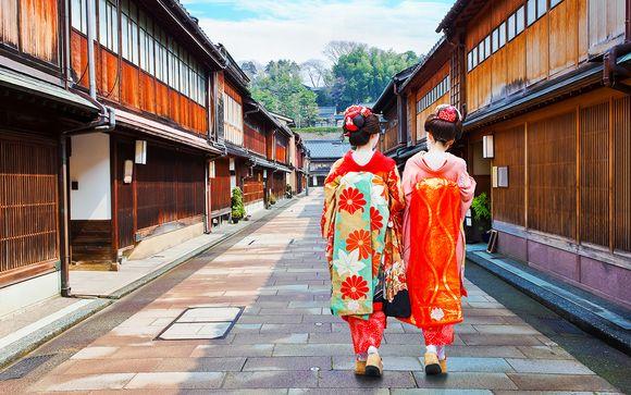 Le città simbolo del Giappone: combinato Tokyo & Kyoto