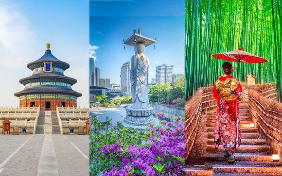 Minitour dell'Asia: Pechino, Seoul e Tokyo