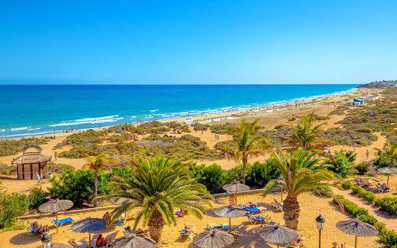 Accogliente 4* per adulti sulla spiaggia di Costa Calma