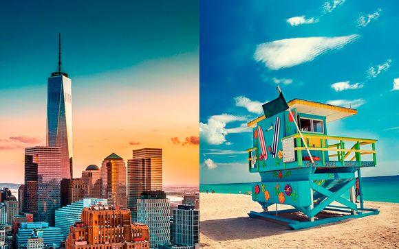 RIU Plaza New York Times Square 4*  + The Fairwind Hotel Miami