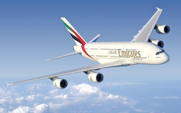 Verso Mauritius con Emirates