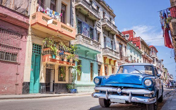 Autentica L'Avana in casa particular e mare All Inclusive in 5*