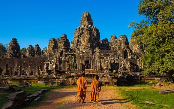 L'Itinerario: 8 notti di Tour privato della Cambogia