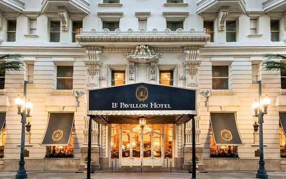 New Orleans - Le Pavillon Hotel