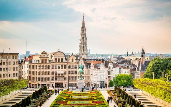 Hotel NH Brussels Stephanie 4*