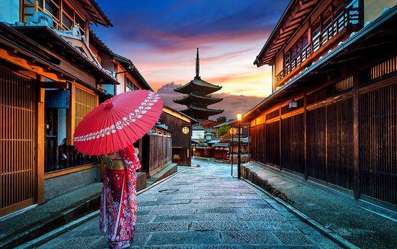 Tour del Giappone tra città e isole