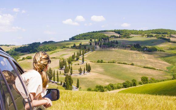 Autotour della Toscana in libertà