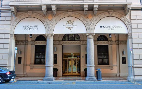 Bologna, 13 gennaio 2017: Hotel I Portici 4* o similare