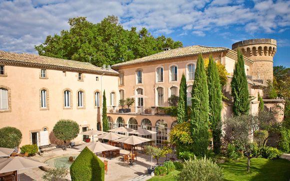 Soggiorno romantico in castello provenzale 4*