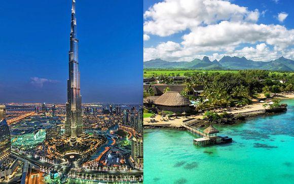 V Hotel Dubai, Curio Collection by Hilton 5* + Maritim Resort & Spa Mauritius 5*