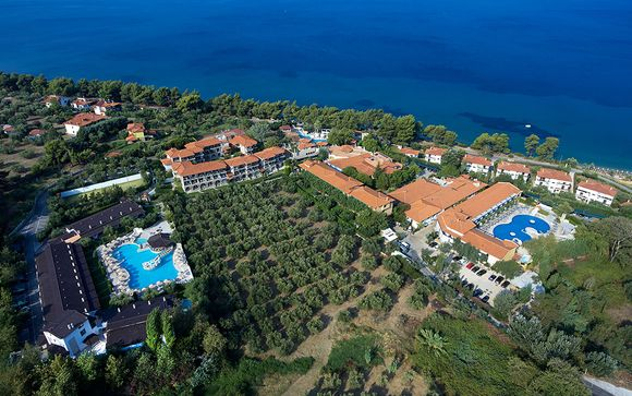 Relax a 5* in residence situato sulla spiaggia di Elia