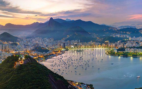 Il paese della samba tra splendide cascate e città