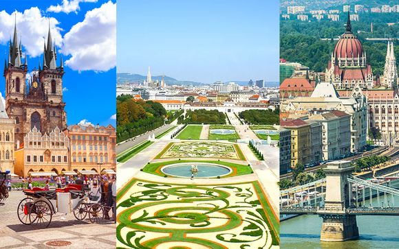 Royal Prague 4* + Roomz Vienna Prater 4* + Mamaison Hotel Andrassy Budapest 4*