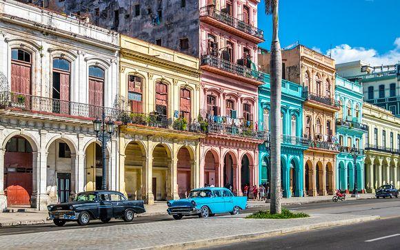 L'Avana e le splendide spiagge di Cayo Santa Maria in 5*