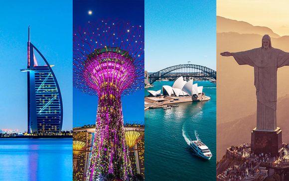 Capitali indimenticabli in un tour del mondo inedito