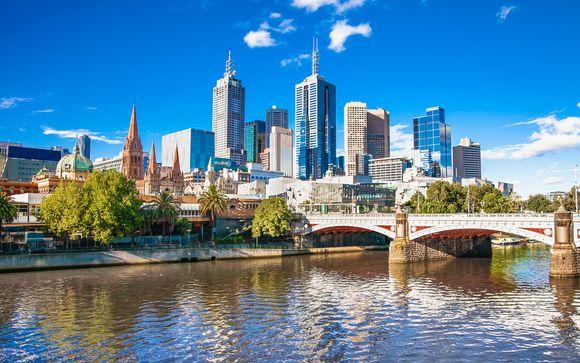 Estensione a Melbourne