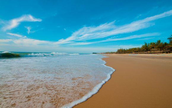 Estensione alla spiaggia di Ho Tram
