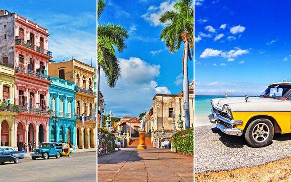 Tour 4 città in Casa Particular + Ocean Vista Azul 5* a Varadero