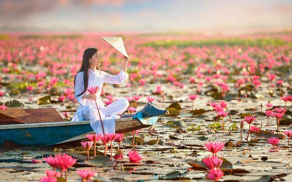 Tour privato del Vietnam + estensione mare a Mui Ne