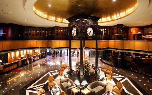 Uw hotels in Singapore en Peking