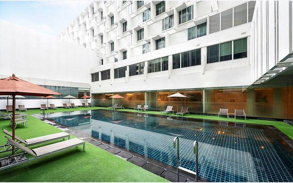 Uw mogelijke verlenging in Bangkok - Mandarin Hotel Managed by Centre Point 4*
