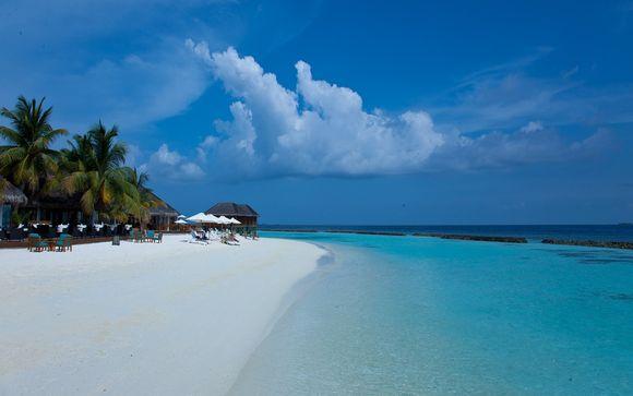 Uw inbegrepen strandverlenging naar de Malediven
