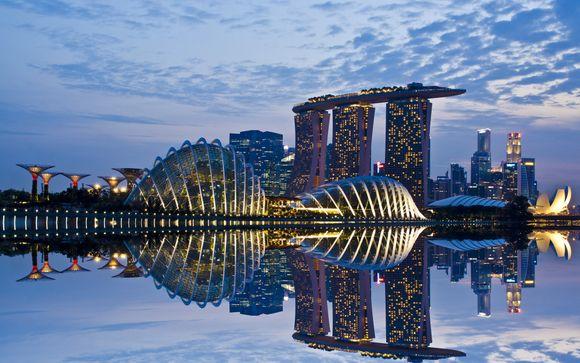 Uw optionele stopover in Singapore