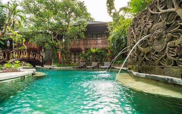 Adiwana Monkey Forest 4* in Ubud