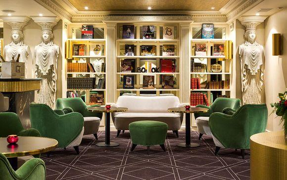 Extravagant Design Hotel in Brussels