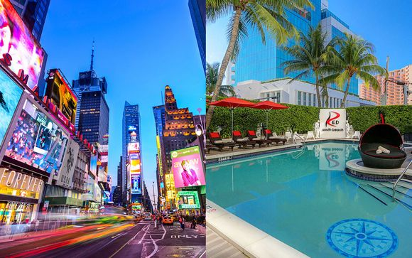 Holiday Inn New York Times Square 3* & Red South Beach Hotel 4*