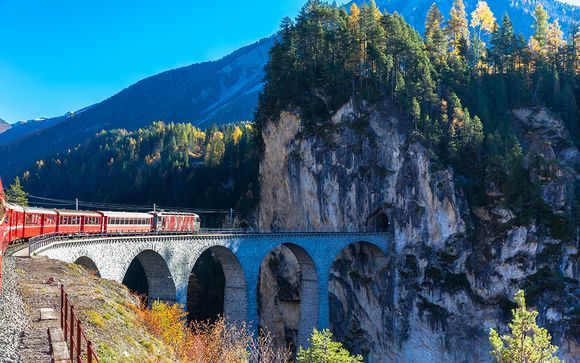 Alpine Adventure Bernina & Glacier Express 4*
