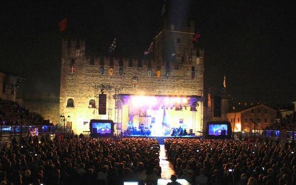 Bocelli Concert at Marostica