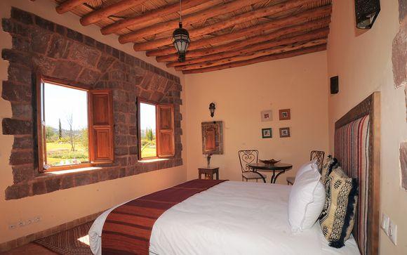 Kasbah Angour, High Atlas Mountains - 2 nights