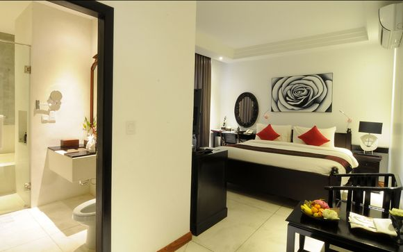 La Rose Boutique Hotel & Spa, Phnom Penh - 3 nights
