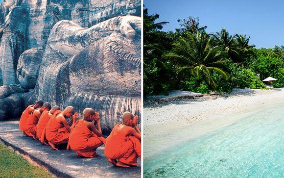 Sri Lanka Tour & Ellaidhoo Maldives by Cinnamon 4*