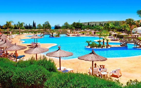 Lush Mediterranean Stay