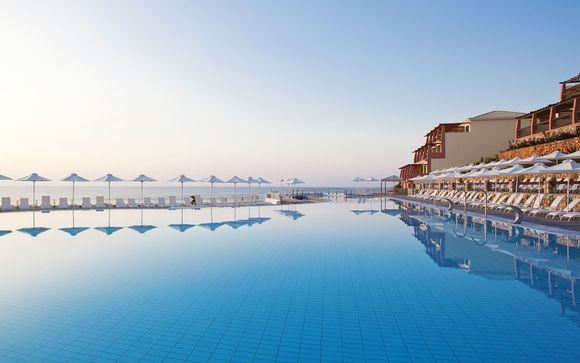 Hillside Resort Overlooking the Mediterranean