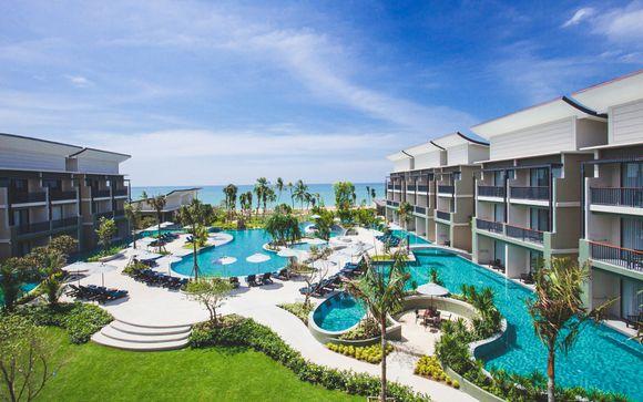 Maikhao Palm Beach 4*, Samui Buri Beach Resort 4* & Bangsak Merlin 5*