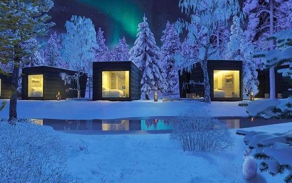 Panorma Design Huts at Arctic Circle Wilderness Lodge