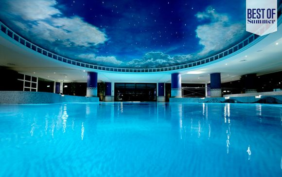 Award-Winning Spa with 3 Course Fine Dining